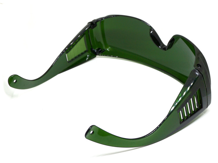 Защитные очки для работы за лазерным станком - Фото №4