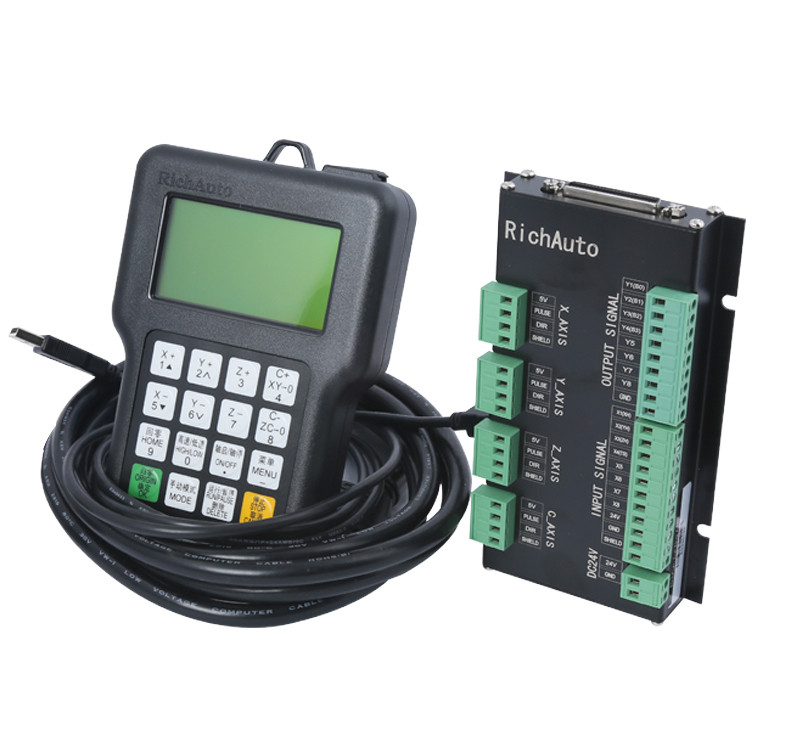 DSP-контроллер RichAuto A11E (полный комплект) - Главное фото
