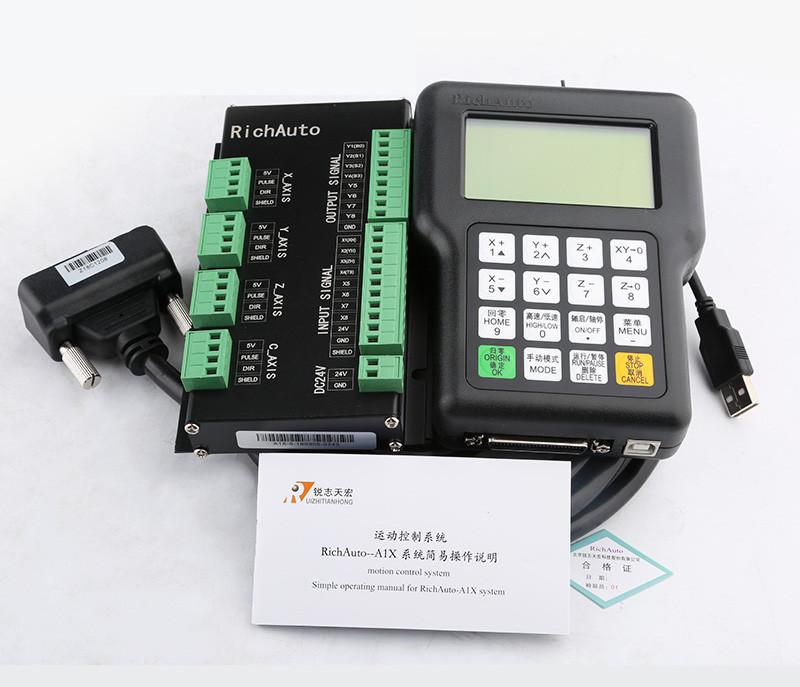 DSP-контроллер RichAuto A18E (полный комплект) - Главное фото