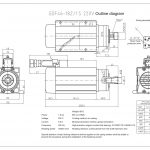 Шпиндель HQD GDF46-18Z/1.5 (1.5 кВт, ER20) 220 В Миниатюра Фото №2
