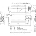 Шпиндель HQD GDF46-18Z/3.5 (3.5 кВт, ER25) 380 В Миниатюра Фото №2
