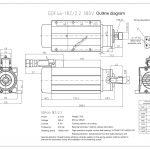 Шпиндель HQD GDF46-18Z/2.2 (2.2 кВт, ER20) 380 В Миниатюра Фото №2