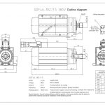 Шпиндель HQD GDF46-18Z/1.5 (1.5 кВт, ER20) 380 В Миниатюра Фото №2