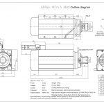 Шпиндель HQD GDF60-18Z/4.5 (4.5 кВт, ER32) 380 В Миниатюра Фото №2