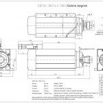 Шпиндель HQD GDF60-18Z/6.0 (6.0 кВт, ER32) 380 В Миниатюра Фото №2