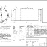 Шпиндель HQD GDL80-20-24Z/1.5 (1.5 кВт, водяное охл.) 220 В Миниатюра Фото №2