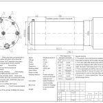 Шпиндель HQD GDL80-20-24Z/2.2 (2.2 кВт, водяное охл.) 220 В Миниатюра Фото №2