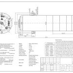 Шпиндель HQD GDL120-30-18Z/5.5 (5.5 кВт, водяное охл.) 380 В Миниатюра Фото №2