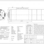 Шпиндель HQD GDL120-30-24Z/6.5 (6.5 кВт, водяное охл.) 380 В Миниатюра Фото №2