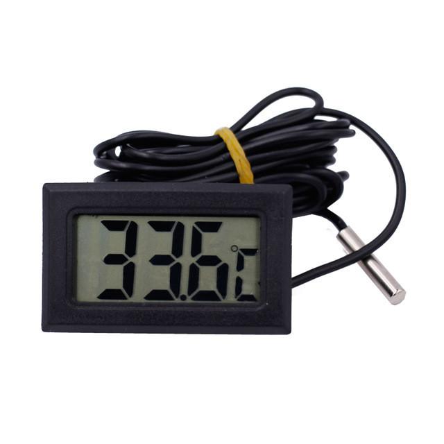 Цифровой термометр с выносным датчиком - Главное фото