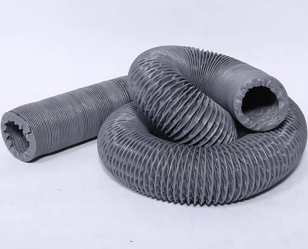 Воздуховод гофрированный армированный огнестойкий D150 (6) 10 м - Главное фото
