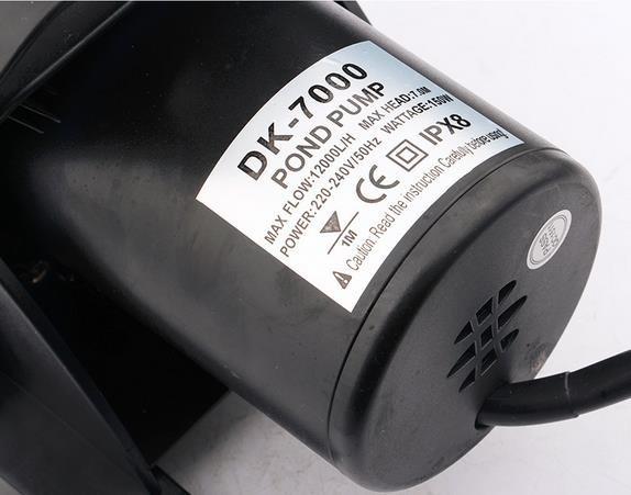 Водяная помпа DK-7000 (7.0 м, 12000 л/ч) - Фото №3