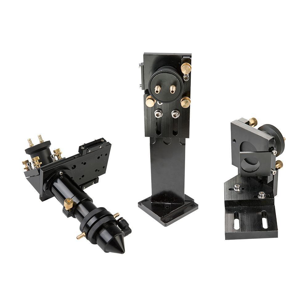 Лазерная головка и держатели зеркал с активным водяным охлаждением - Главное фото